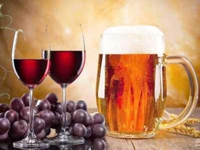 一张图告诉你葡萄酒与啤酒的营养价值 葡萄酒的营养价值