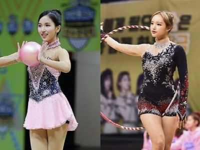 体操精灵PK芭蕾公主2018偶像运动会程潇Mina展终极对决 aoa偶像运动会