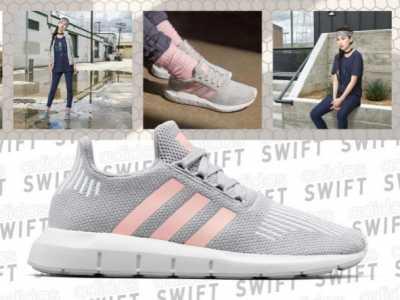 Angelababy上脚的adidas全新鞋款 anglebaby穿运动鞋