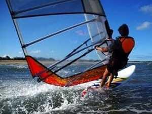 风帆冲浪Wind Surfing 海边运动词汇英语怎幺说