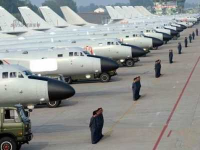 解放军空36师大规模换装轰6K 解放军换装