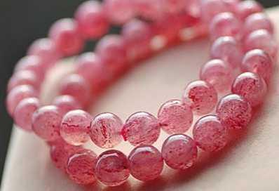 草莓晶的灵性及鉴别要点 鉴别草莓晶