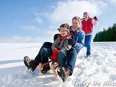 世界最早的雪橇运动——有舵雪橇 奥运会大雪橇运动