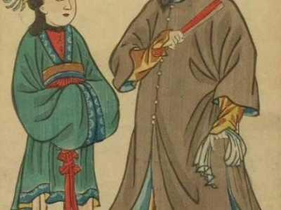 1855年日本人眼中各国夫妻画像 各国人怎幺画