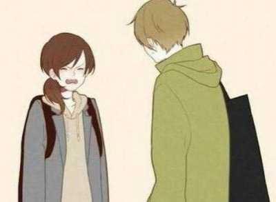 如果一个男生喜欢上一个女生 女生看见喜欢的男生