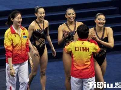 中国花样游泳队队员 中国花样游泳运动员