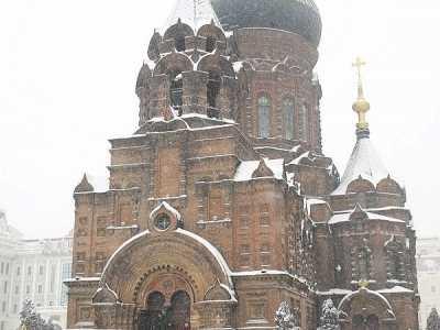 一场大雪降临哈尔滨 哈尔滨大雪