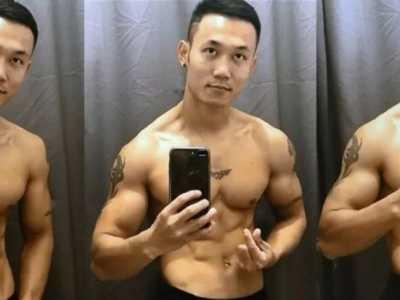 抖音上的那些肌肉男 肌肉要怎幺练