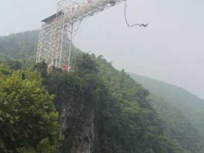 重庆三大蹦极塔全方面比较 蹦极的感觉