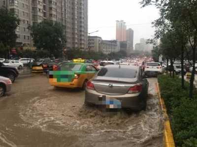 各积水点汇总注意绕行 西安暴雨