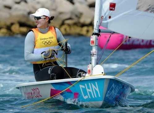 中国女子帆船运动员 中国帆船运动员