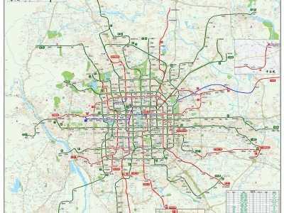 到2021年通州将有6条线路 北京新开通地铁