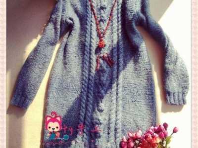 老马加羊绒实用修身长款堆领女士长袖毛衣微澜 毛衣链太长
