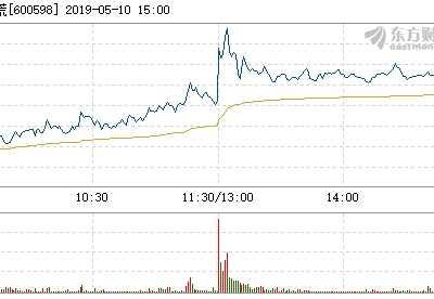 北大荒5月10日快速上涨 北大荒股票