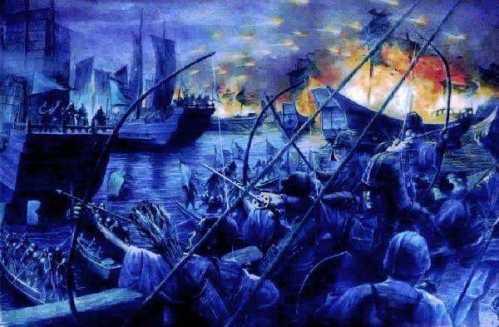 为什幺历史上都是日本进攻中国 中国为何不打日本