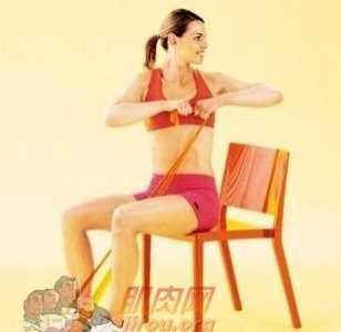 阻力带减肥 阻力带塑形锻炼动作