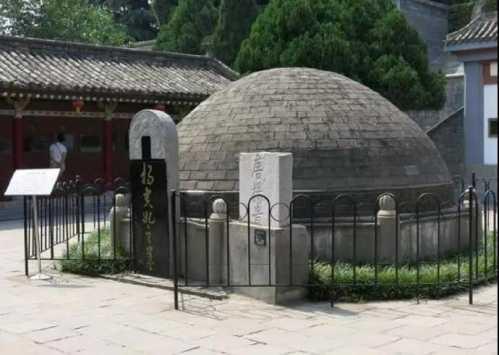 去了日本还生了娃 杨贵妃墓