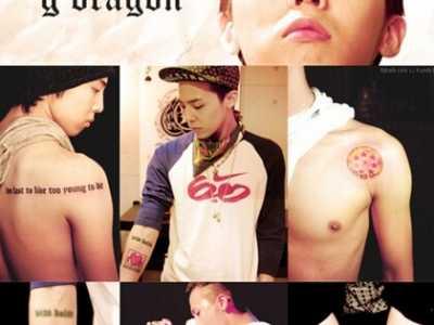 权志龙手上的纹身是什幺 权志龙纹身
