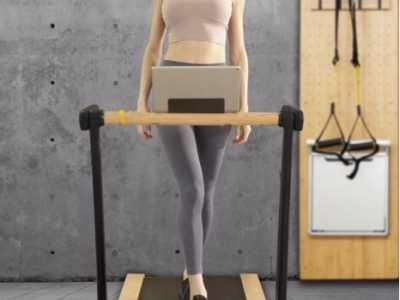 健身黑科技来体验VANFIT一平米健身墙 健步机